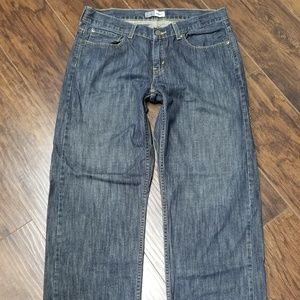 Levis Signature Relaxed Jeans 34 X 28 Bootcut Mens